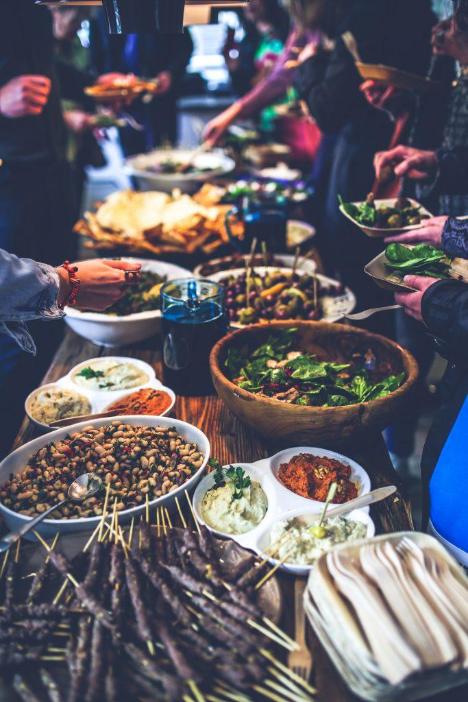 avondeten tafel