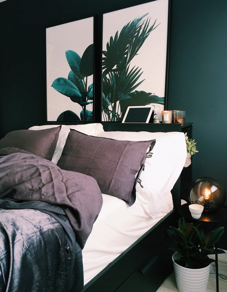 boxspring goed bed