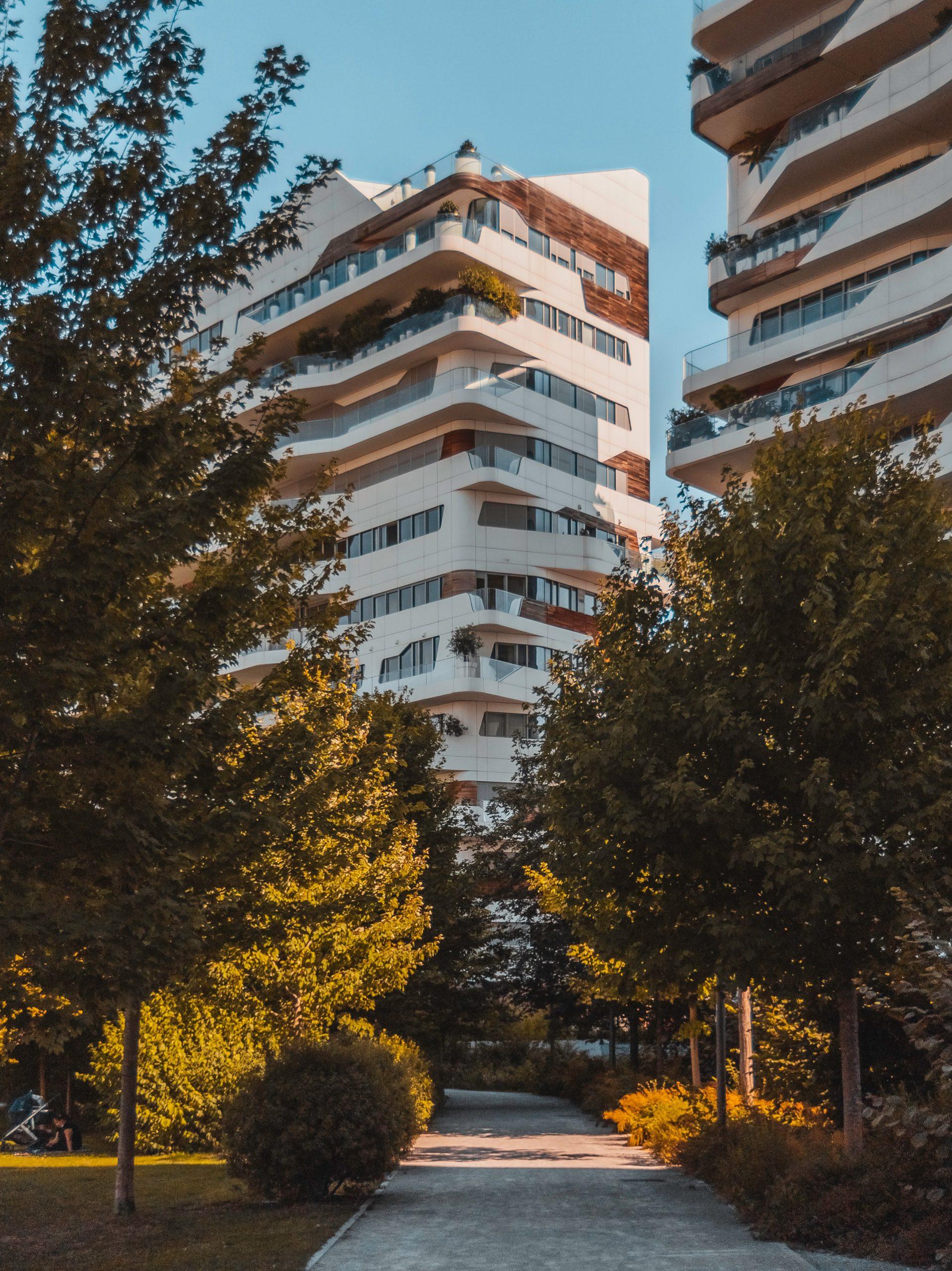 futuristische appartementen